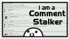 Comment Stalker Stamp by Drick96