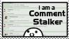 Comment Stalker Stamp