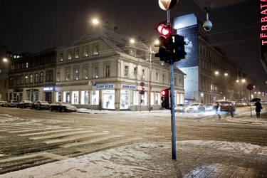 Just a snow by Medniex