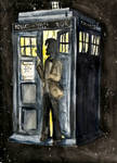 Eleven and his Tardis