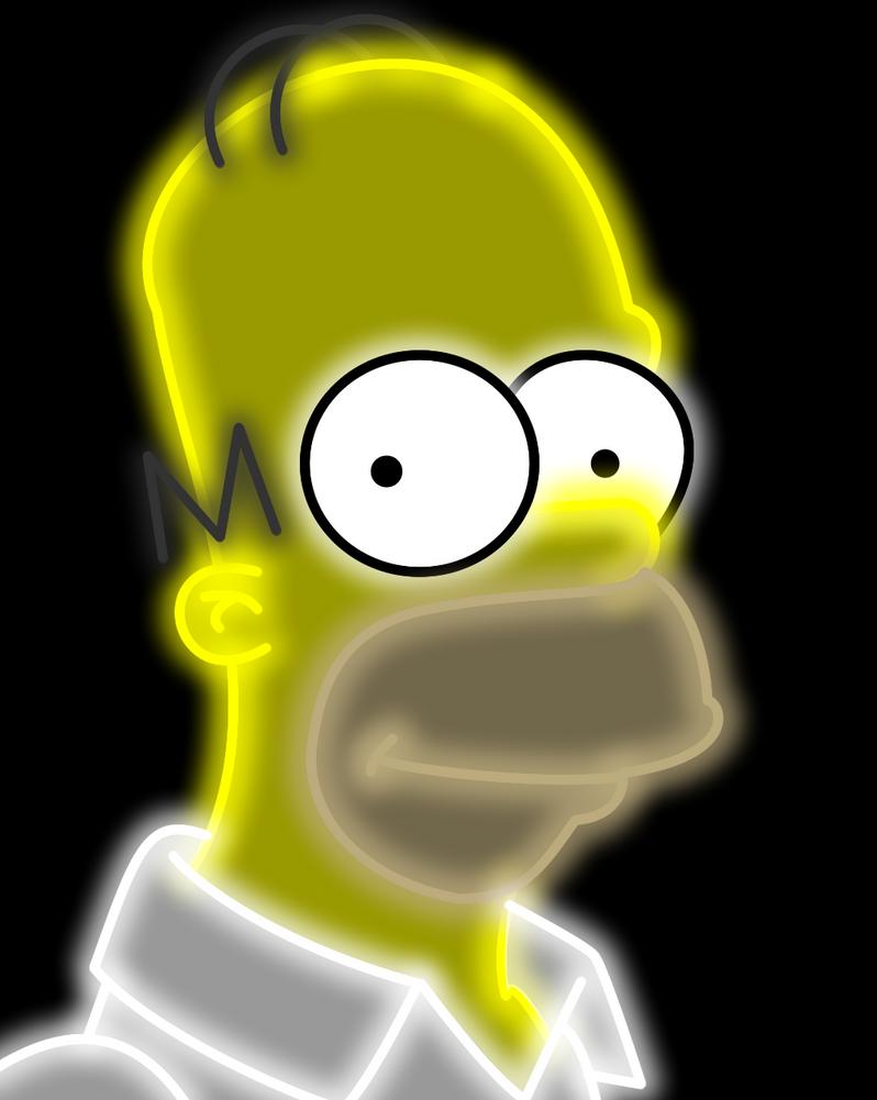 Homero Neon by Ellittest