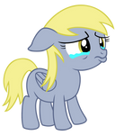 Filly Derpy Crying