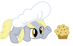Filly Derpy Makes A Muffin