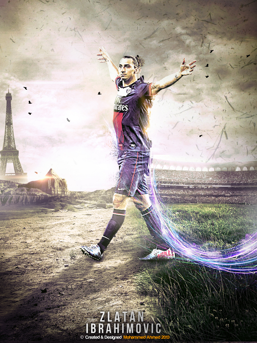 zlatan ibrahimovic by M-A-G-F-X-Graphic on DeviantArt