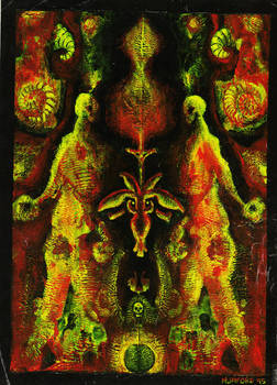 Alchemical Rorchschach - In The Womb Of Lucifer