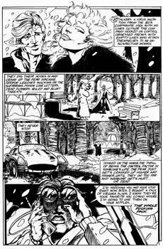 BILL THE BULL: BLOWTORCH KISS 1 inks by C. Mumford