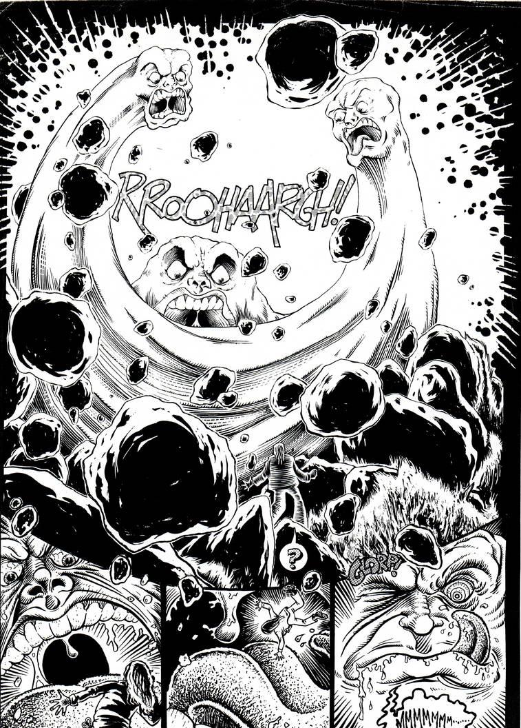FORRESTEN #4/97 'Sandman' Monster Magnet parody p1