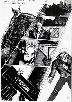 FANTASTICO COMIX #1 1991 underground fanzine comic