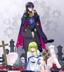 [Contest Entry] Code Geass - Long Live The King by komissachan