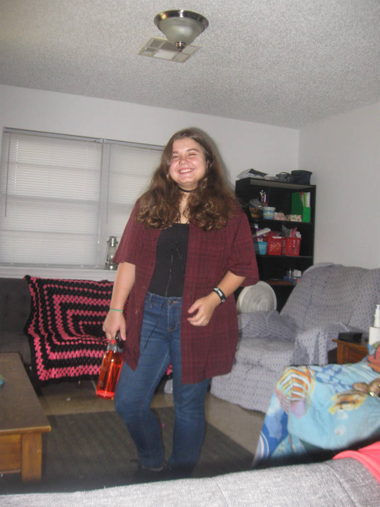 The first day of junior high for me!