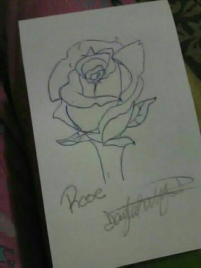 Rose  by MadHatterNeko1028