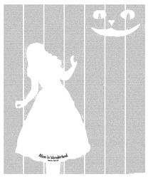 Alice's Adventures Wonderland by postertext