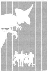 Wonderful Wizard of Oz by postertext