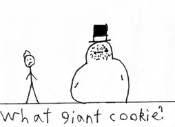 Toby What Giant Cookie? by BlackeyeI