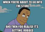 Dr Hibbert Store Meme by BlackeyeI