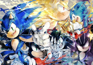 SONIC by aimf0324