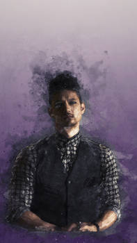 Purple thoughts - Magnus Bane