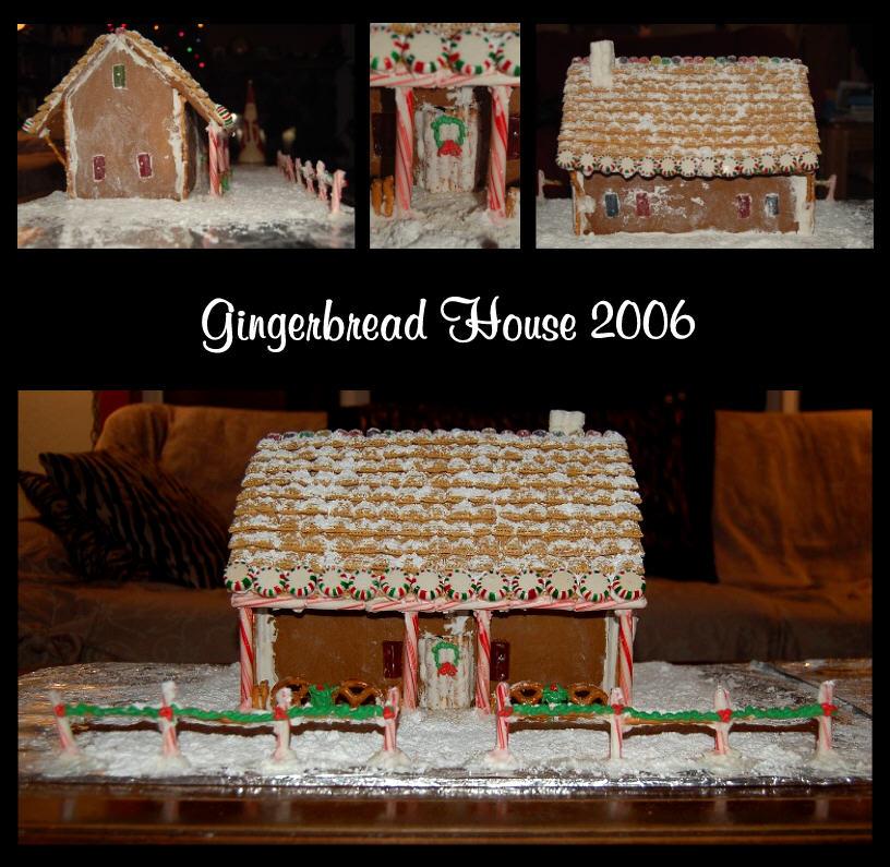Gingerbread House 2006 by TabbyRox