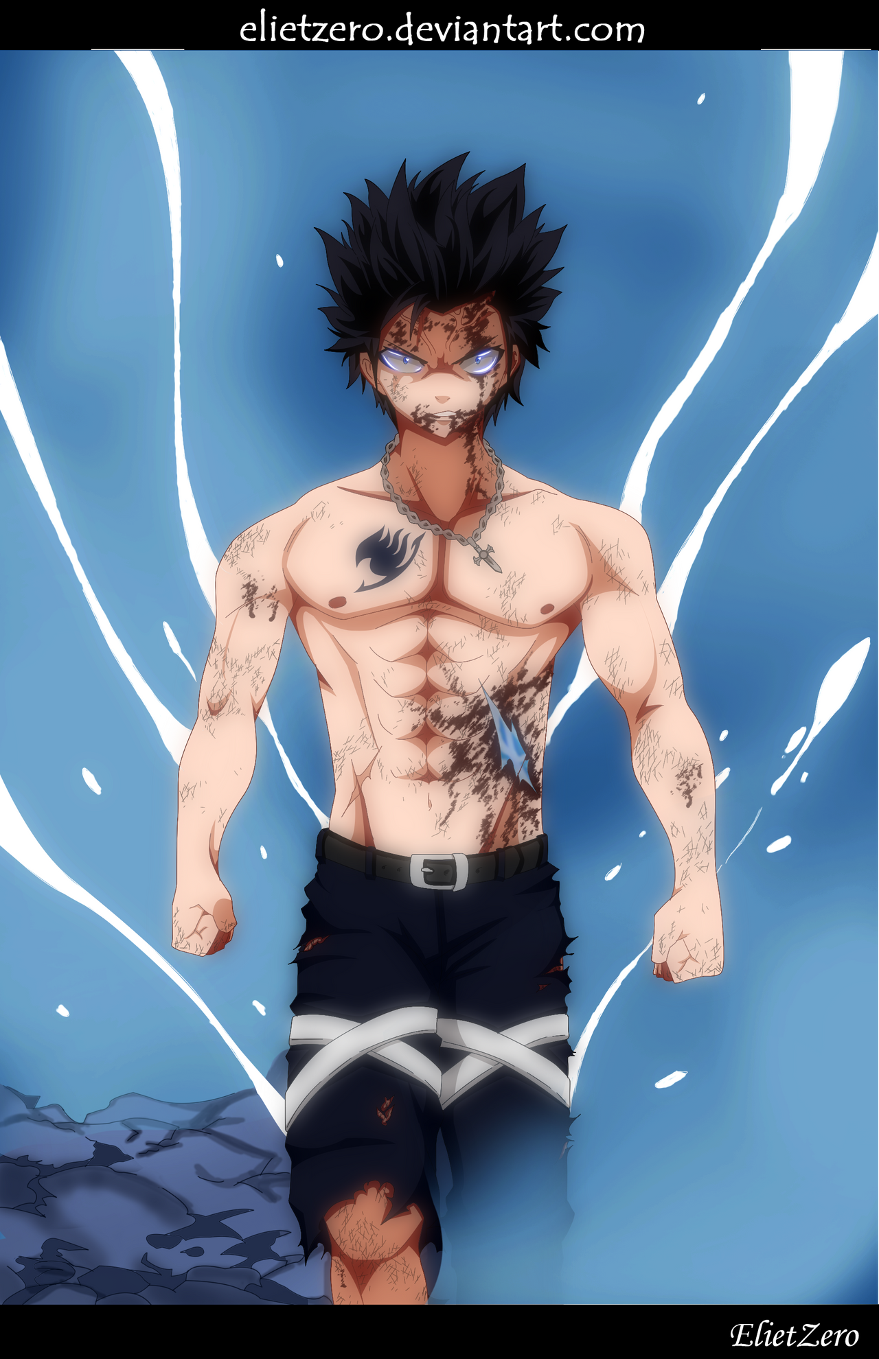 Fairy Tail 499 Gray Fullbuster Colored by ElietZero on ...