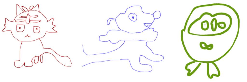 Pokemon: Horrible Alola Starter Doodles by CuddlyBrainMakesArt