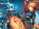 Ghost rider issue 28 covers