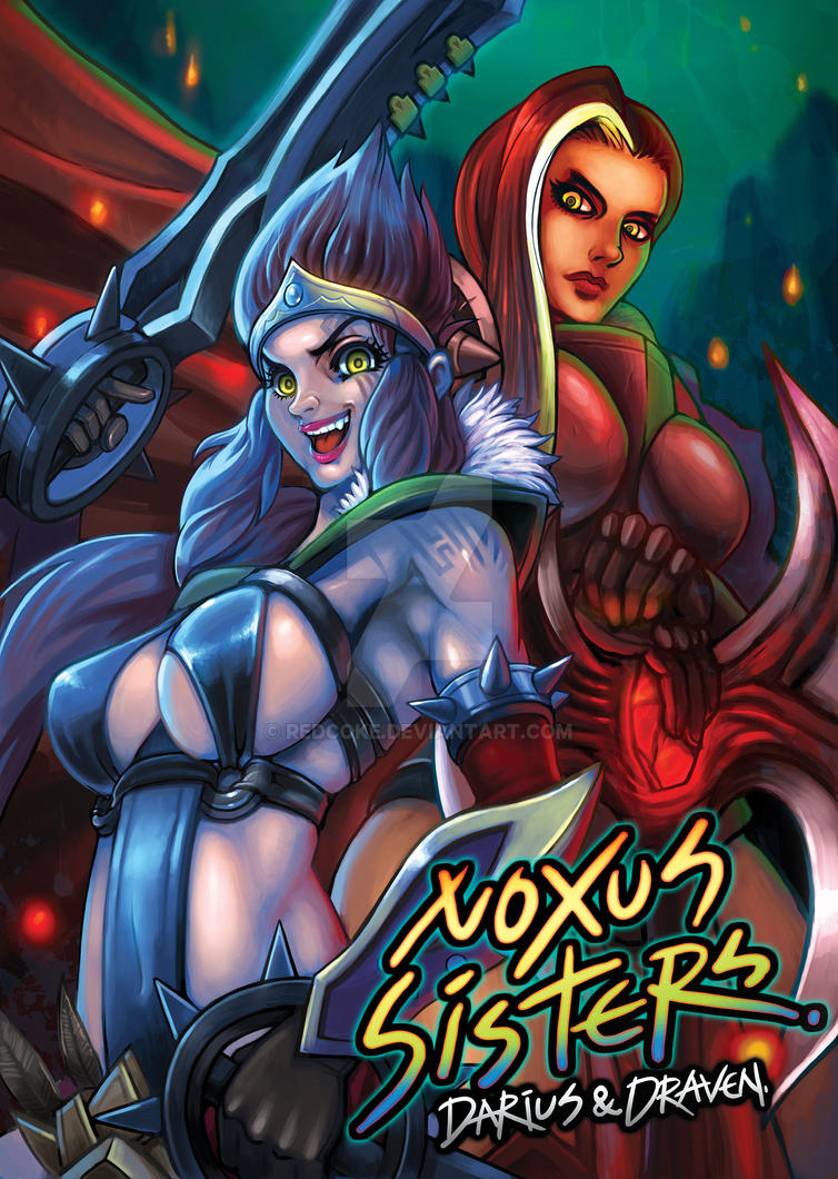 Noxus Sisters by Redcoke
