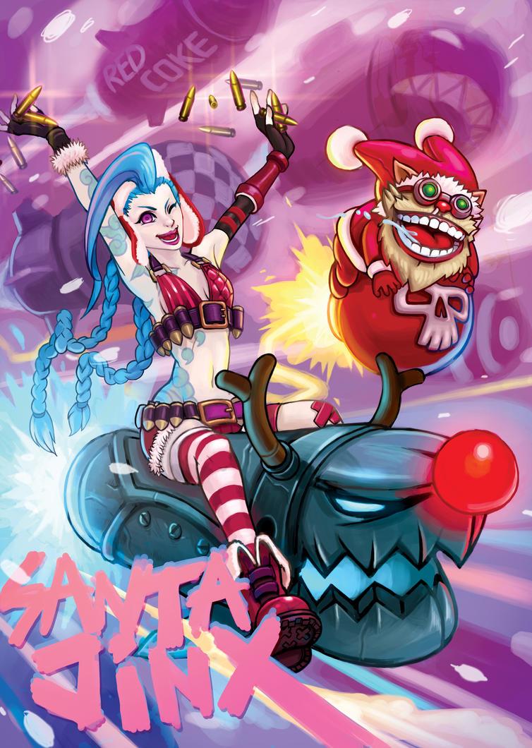 Santa JinX by Redcoke