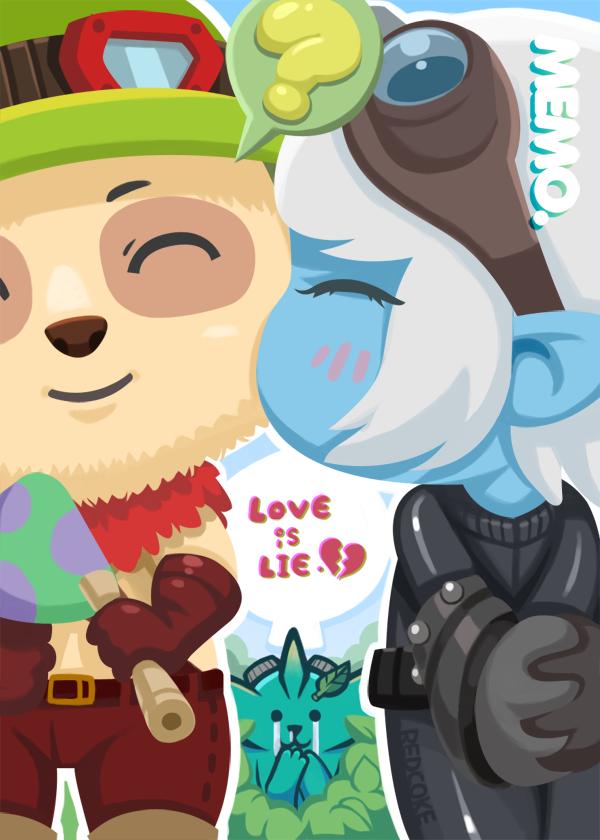 [LOL]Love is lie by Redcoke
