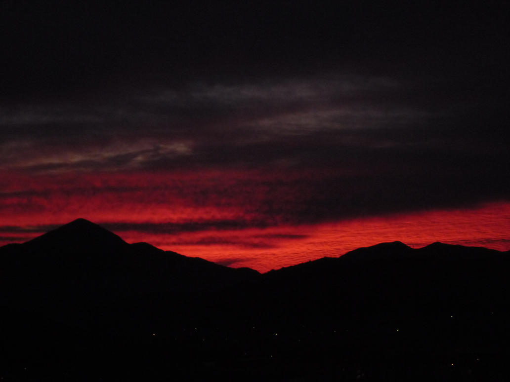 Trebinej red sunset by EmphasizeDarkness