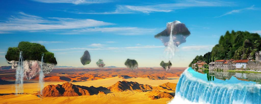 Life above desert by EmphasizeDarkness