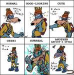 Megavolt Style Meme