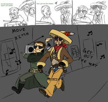 FONV - Boombox by Cheri-chan