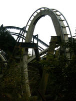 Rollercoaster Track Two 4MB by Stoo-stock