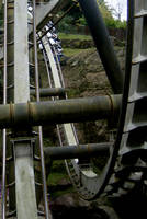 Rollercoaster Track Three 2MB by Stoo-stock