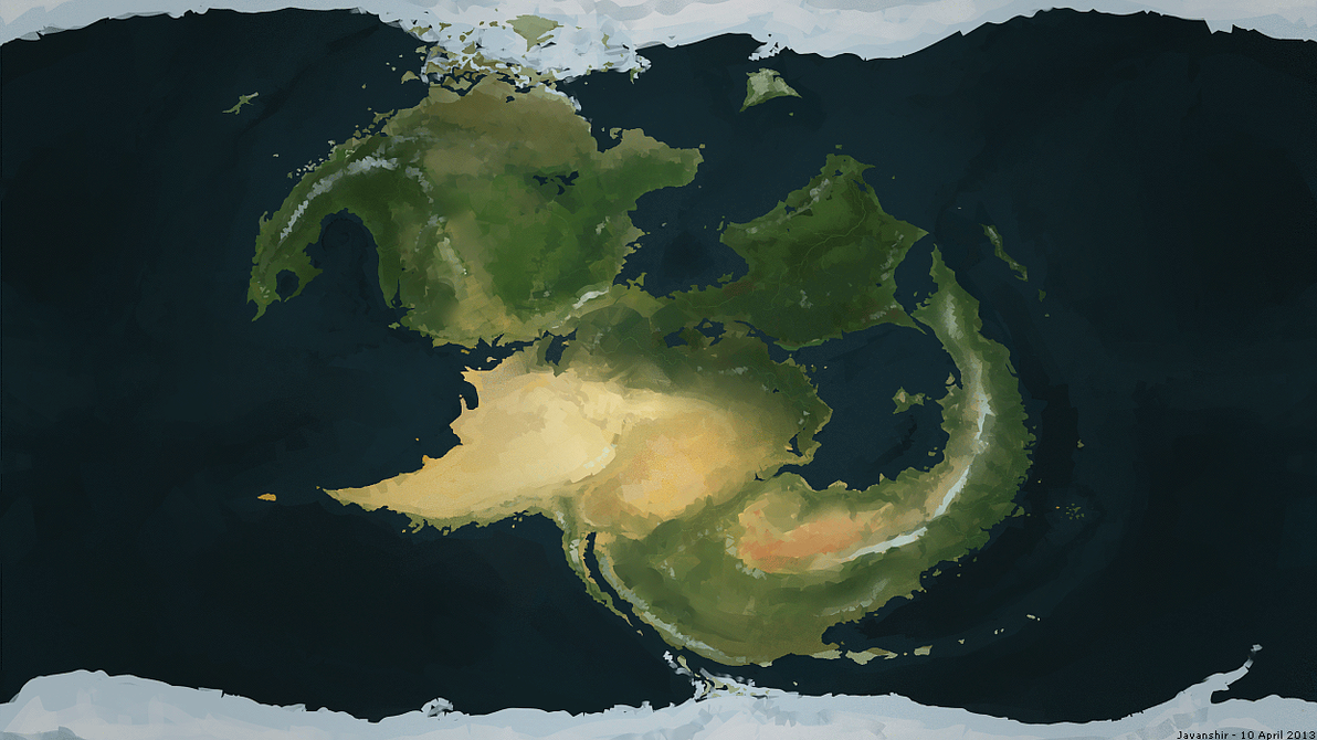 satellite map by beiua