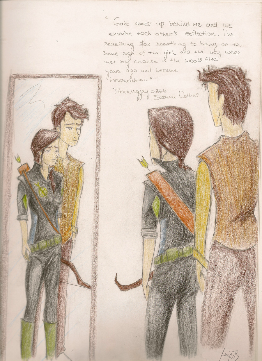 SPOILER Katniss and Gale by dede23