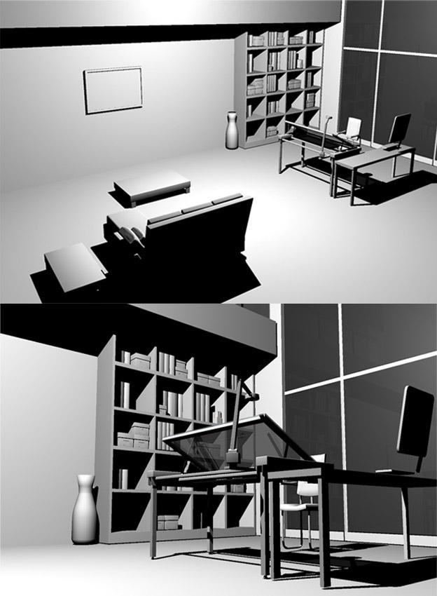 Contemporary living room by dede23 on deviantart for Modern living room reddit