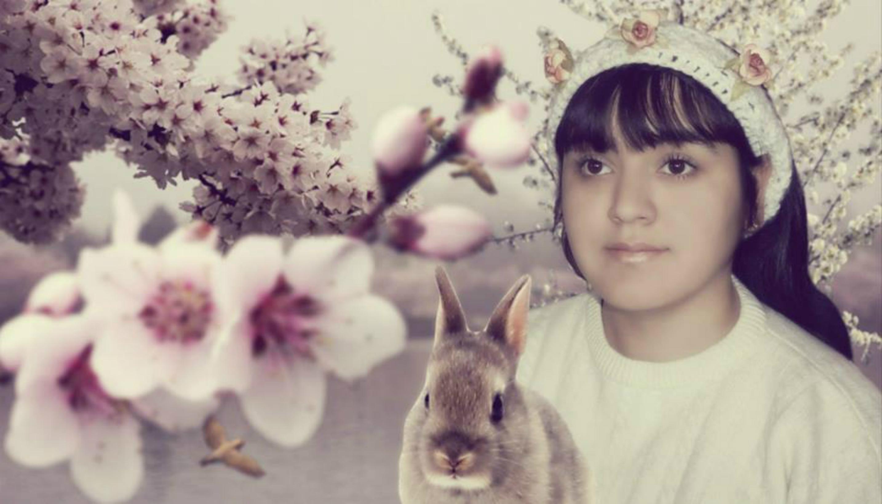 Sakura y conejo by nayareth