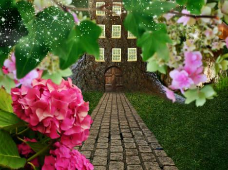 La puerta y el arbol del secreto