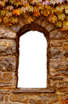 Png rocas de ventana de otono