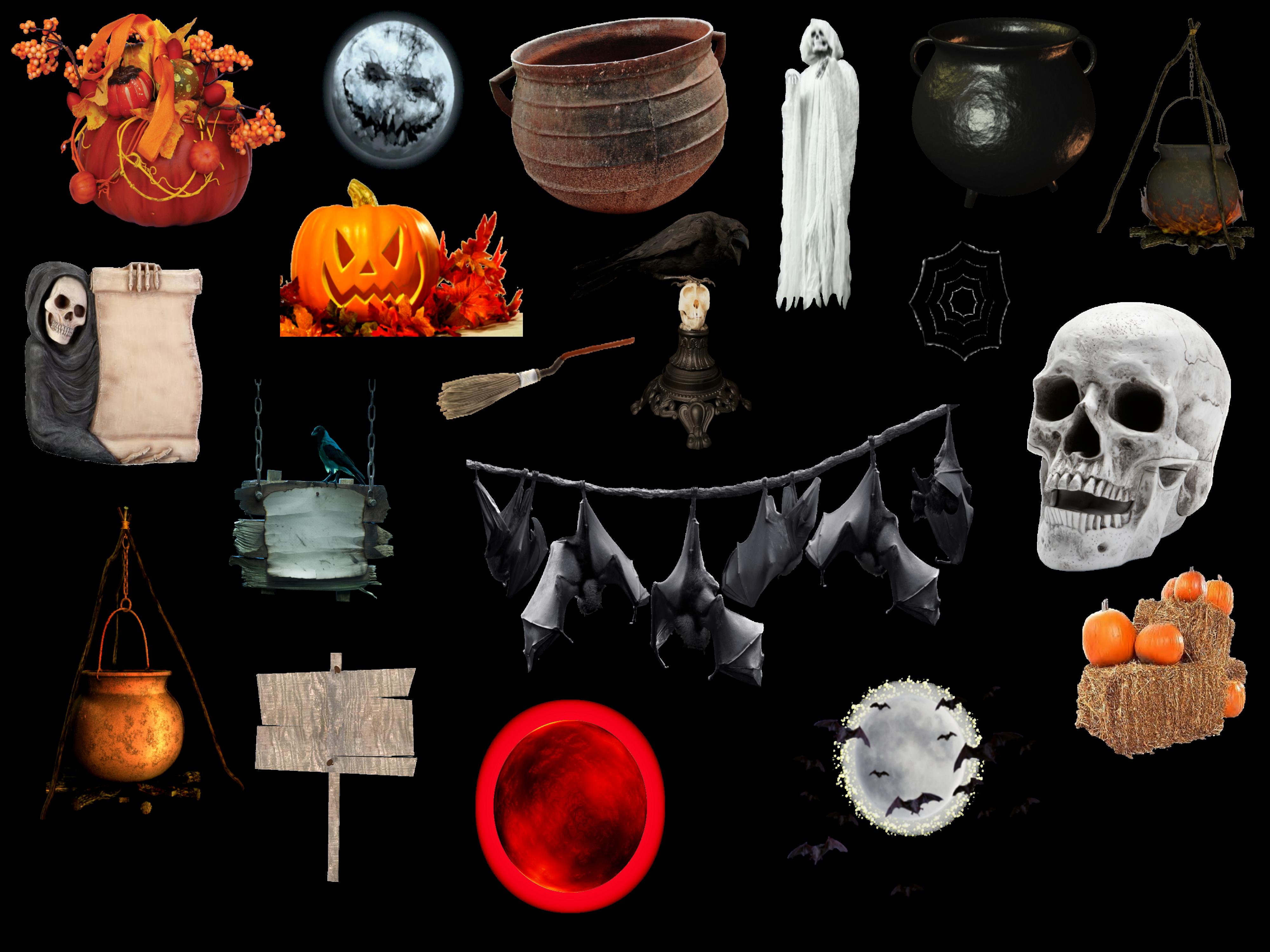 Cosas de Halloween PNG by nayareth on DeviantArt