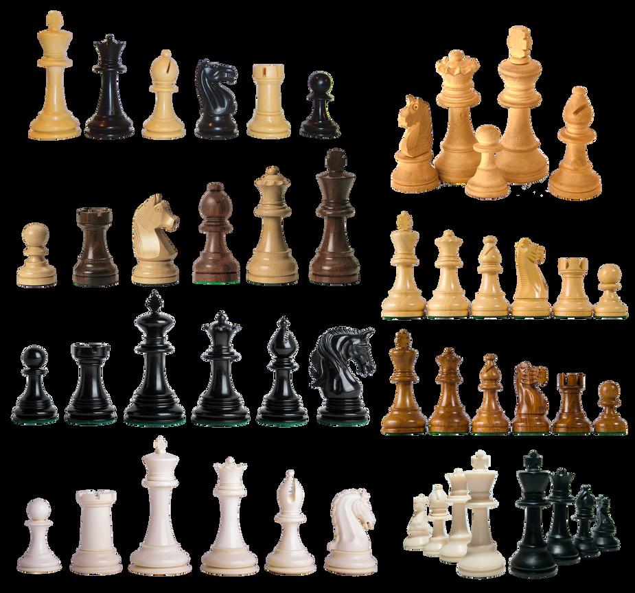 Piezas de ajedrez PNG by nayareth