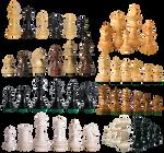 Piezas de ajedrez PNG
