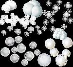 PNG Bolas de nieve