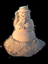 Arena hombre de nieve PNG by nayareth