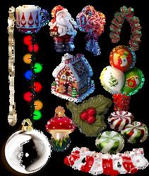 Navidad cosas PNG 4 by nayareth