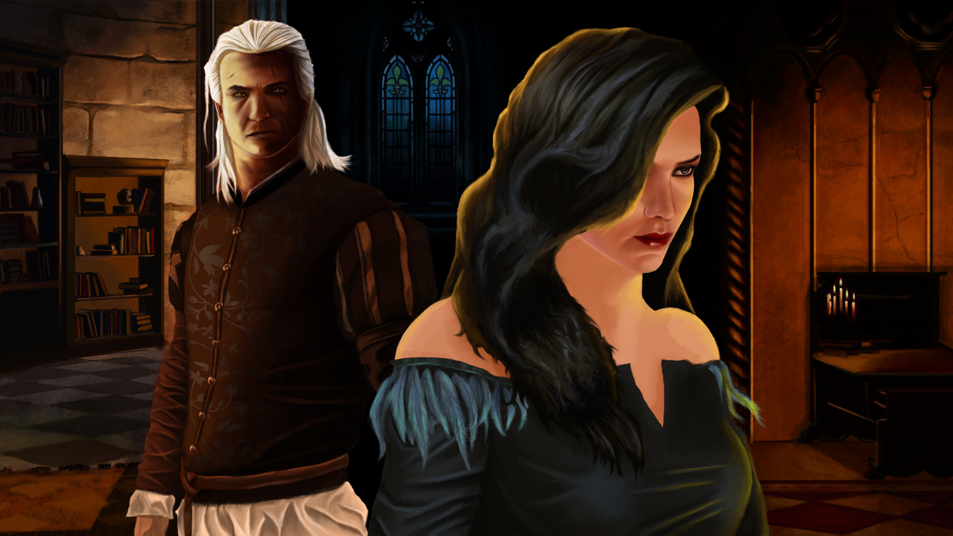 geralt and yennefer by - photo #31