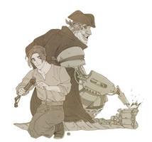 [Fanart] Treasure Planet by legaltaboo