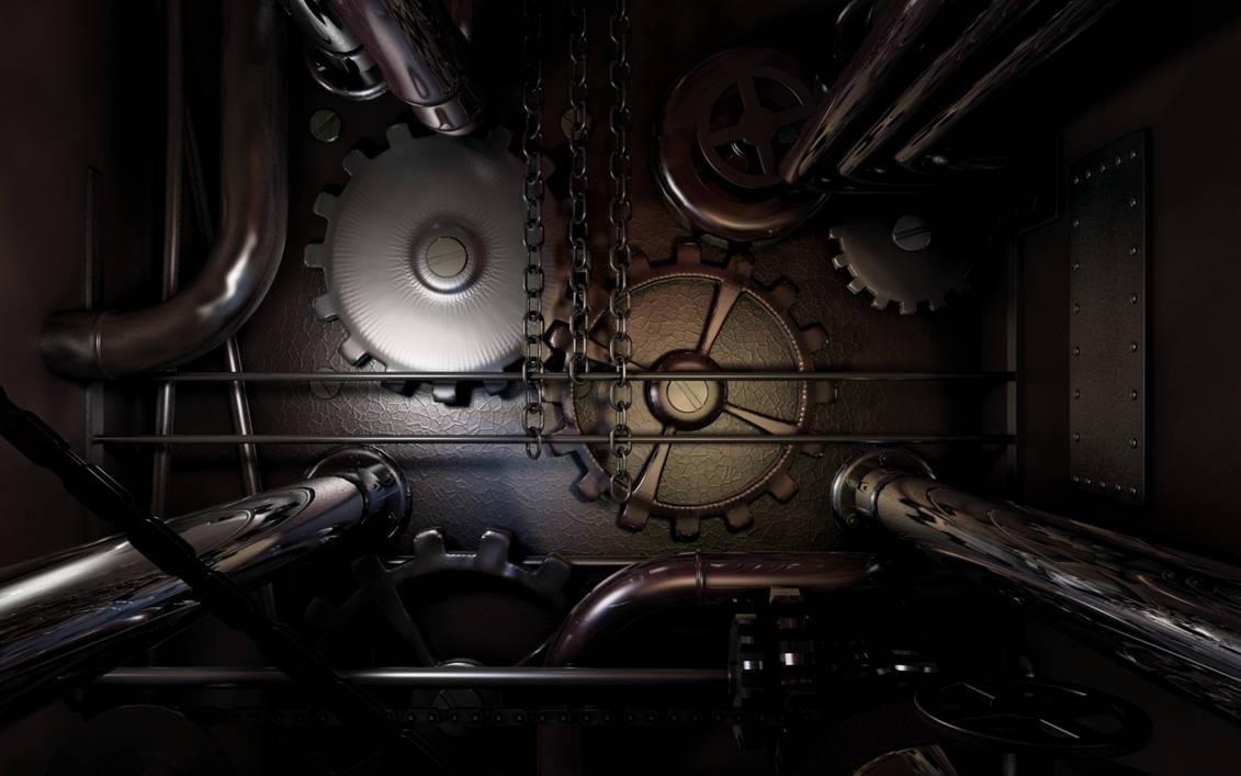 Dark Steampunk by ark4n
