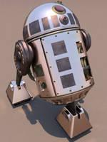 R2D2 Steam Prototype by ark4n